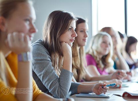 девушки на лекциях фото