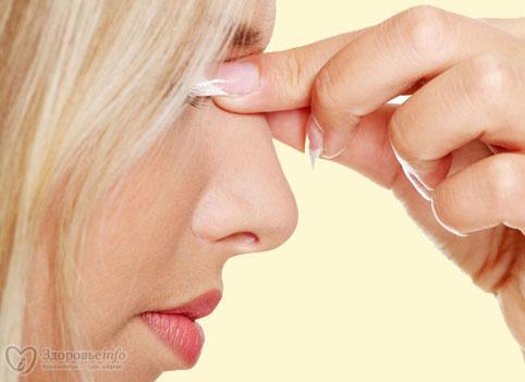 Сперма пузырями из носа