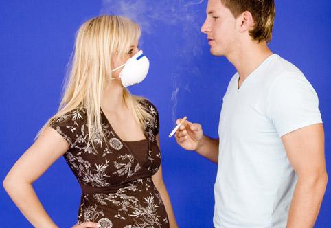 Пассивное курение и беременность